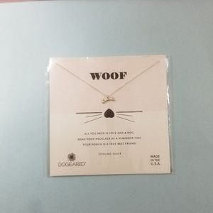 Dogeared Woof Necklace